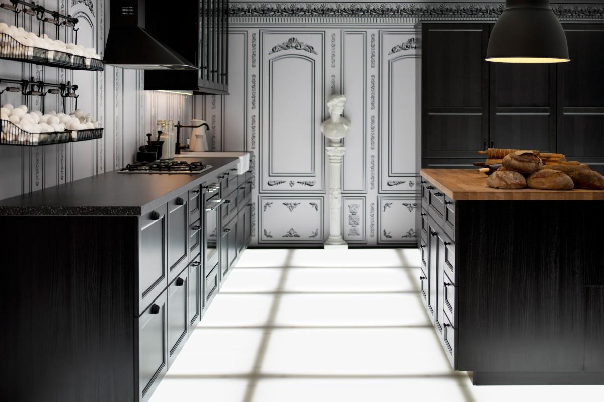 ikea metod uusi keitti konsepti boheme interior. Black Bedroom Furniture Sets. Home Design Ideas