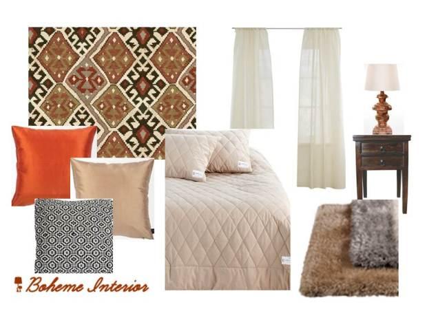 Bedroom/ Boheme Interior.