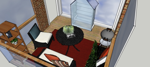 balcony/ Boheme Interior