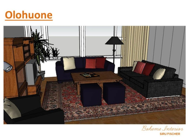 Living room/ olohuone