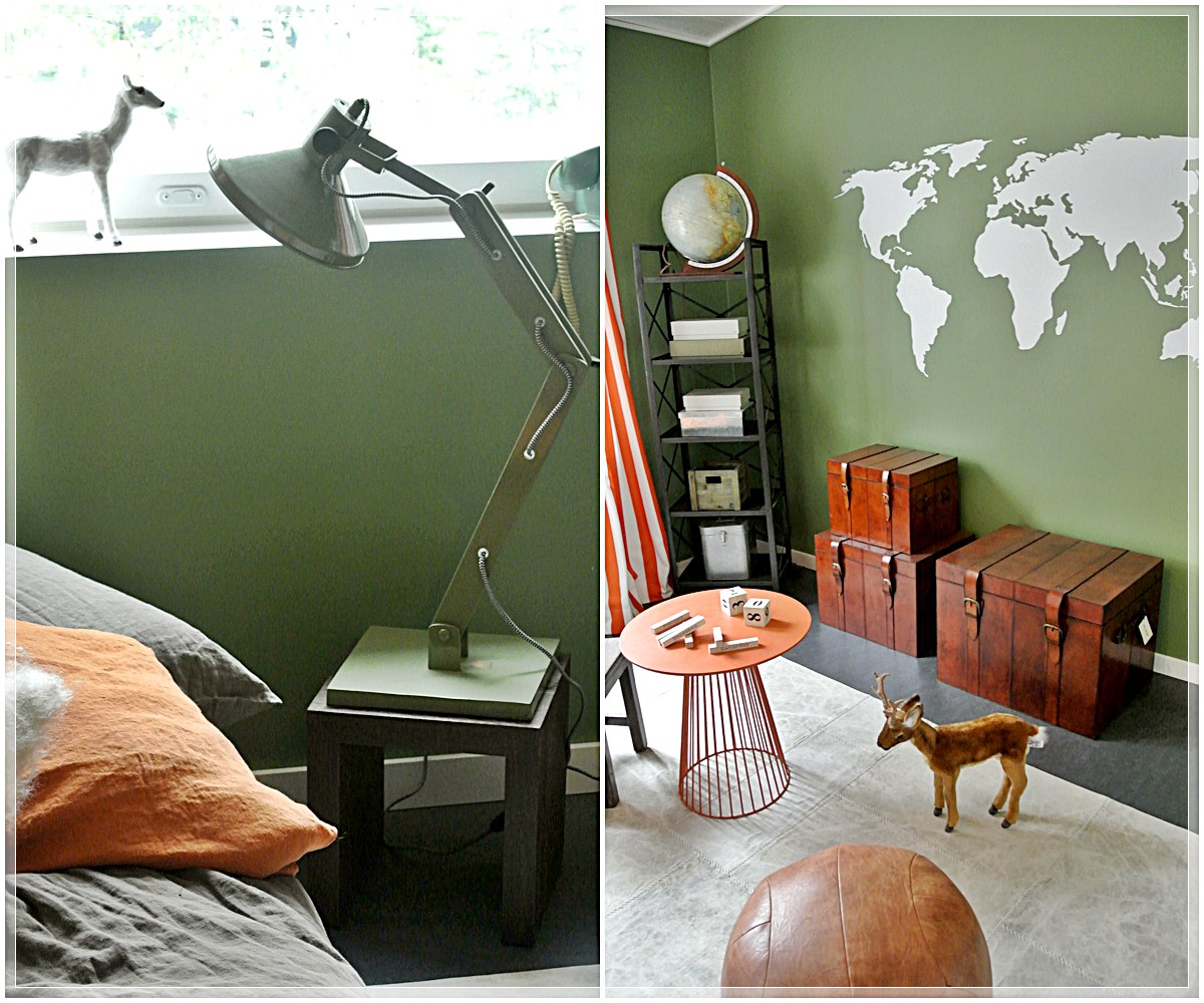 Green room | Boys room | Pinterest | Green Rooms and Green