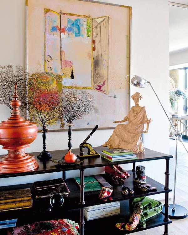 Värikäs koti/ colorful home