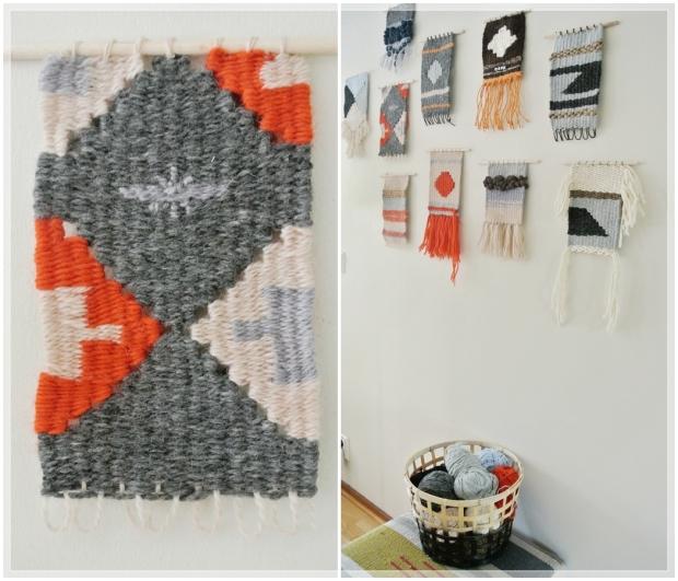 Miniryijyt, weaving / Boheme Interior sisustus verkkokauppa + sisustussuunnittelu Helsinki