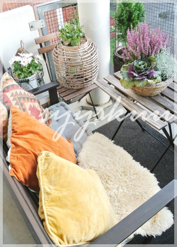Parveke, balcony/ Boheme Interior sisustus verkkokauppa + sisustussuunnittelu Helsinki