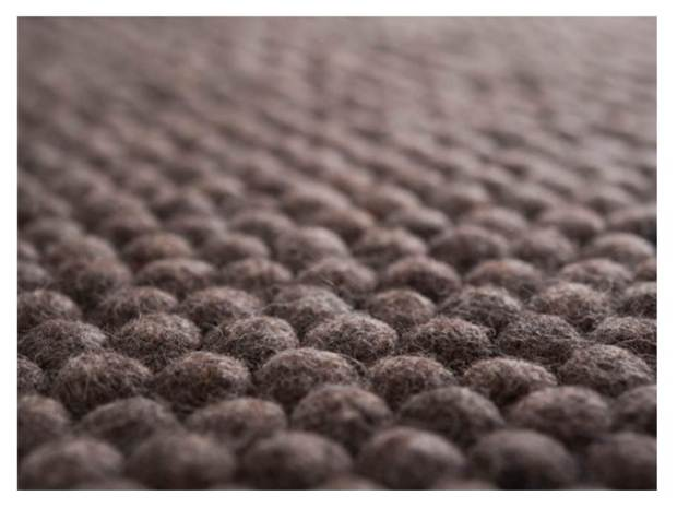 huopapallomatto, boheme interior, felt ball rug