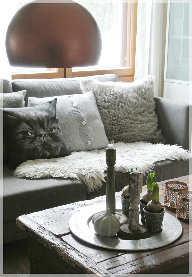 home, interior, sisustus, olohuone, harmaa anno-sohva, decor, olohuone, living room