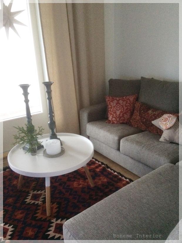 olohuoneen sisustussuunnitelma, kelim, livingroom