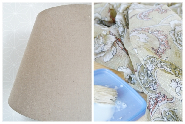DIY lampshade/varjostin, makuuhuone/bedroom