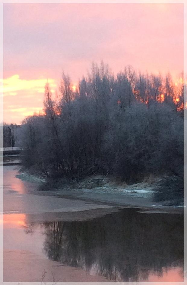 Luontokuva, Vantaanjoki, Helsinki, Finland