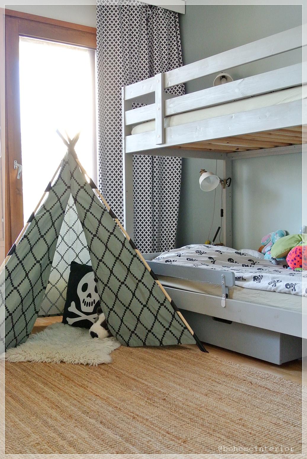 Lastenhuone, kids room, sisustus