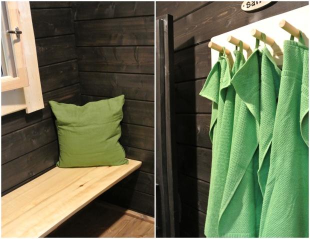 Kevätmessut, mökki, sisustus, salvos, sauna, boheme interior, sisustussuunnittelu