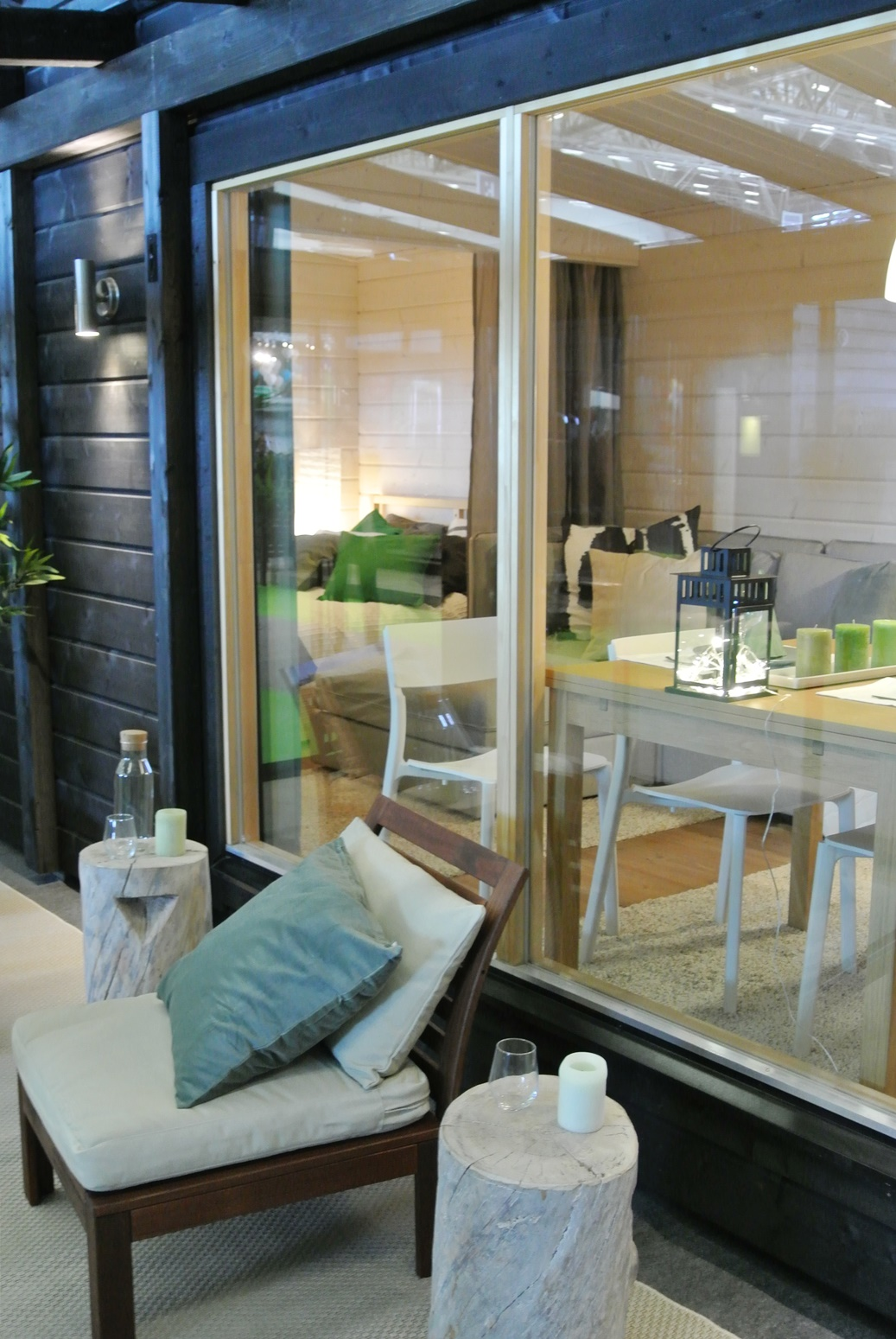 Kevätmessut, mökki, sisustus, salvos, boheme interior, sisustussuunnittelu
