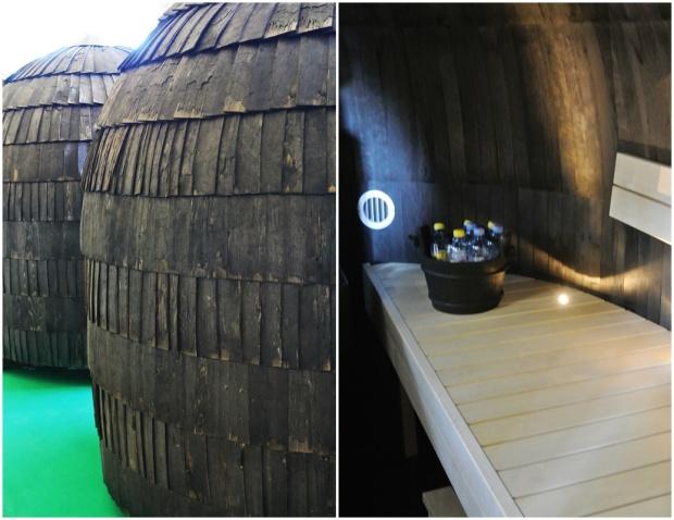 Kevätmessut, mökki, sisustus, iglusauna, sauna, boheme interior, sisustussuunnittelu