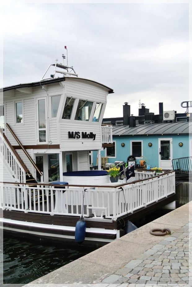 Tukholma, asuntolaiva, satama, boathouse, stockholm