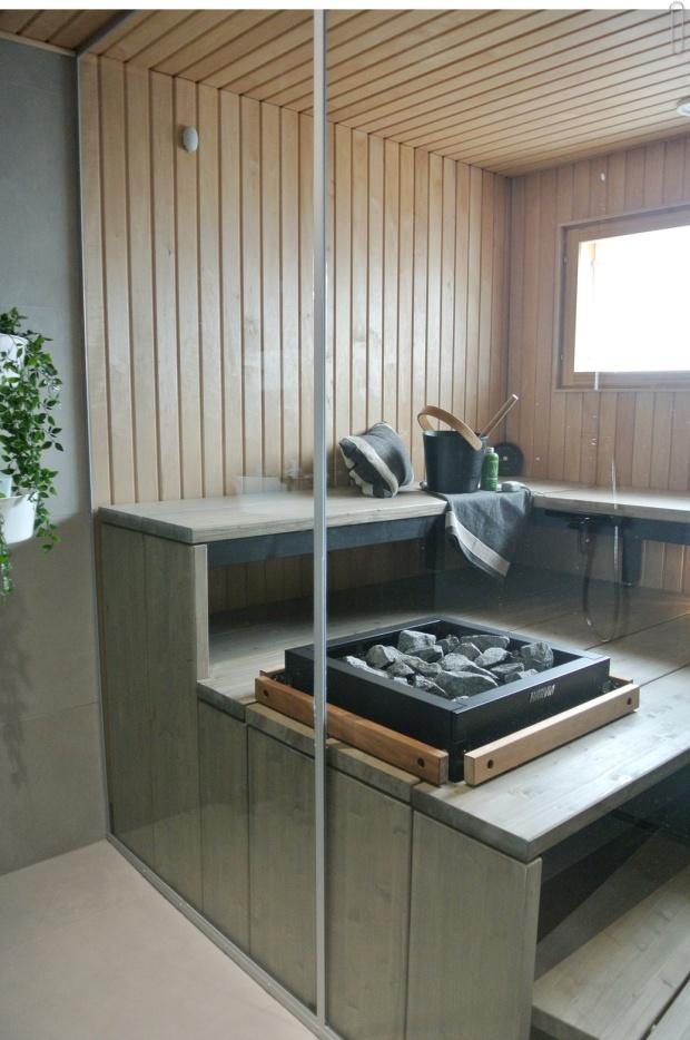 Asuntomessut Pori, sisustus, sauna, kodinhoitotila, home decor