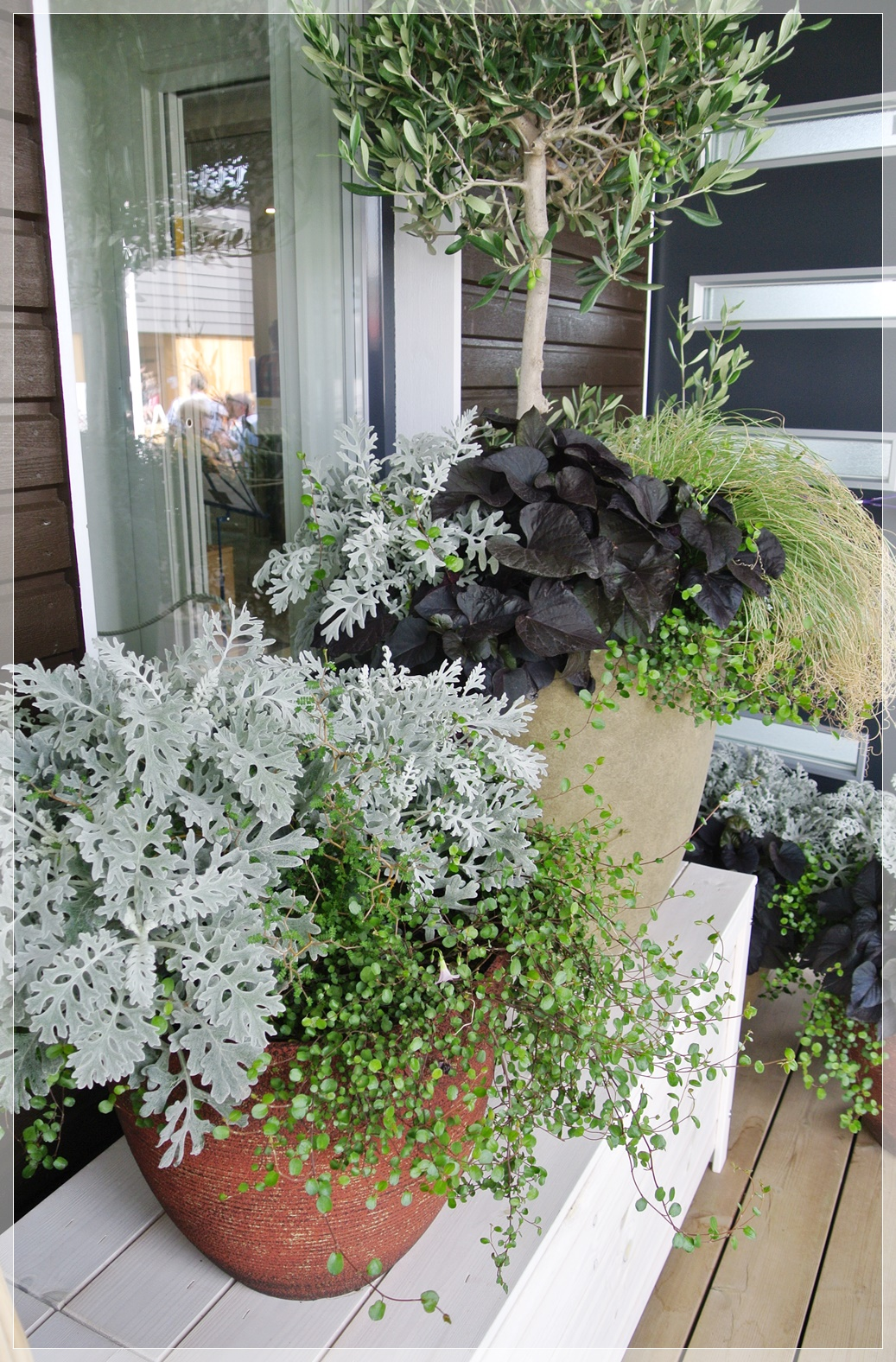 Asuntomessut Pori, Casa Terde, sisustus, terassi, garden