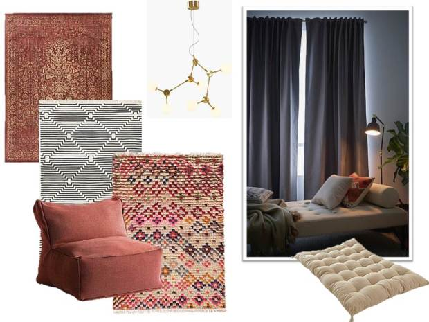 Jotex, sisustus, home decor, boheme interior