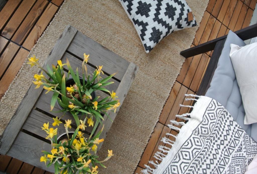 parveke, balcony, sisustus, sisustussuunnittelu, boheme interior